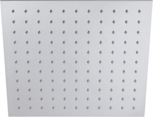 Душ пита метална масивна 30x30 см. квадрат Drop, Италия