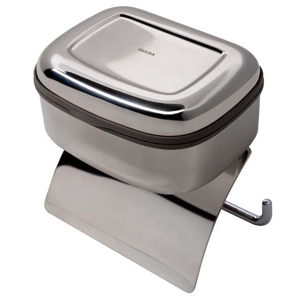 Кутия за мокри кърпички+държач за WC хартия