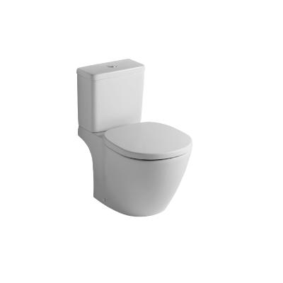Connect Cube WC комплект, хоризонтално оттичане, казанче със странично водоподаване