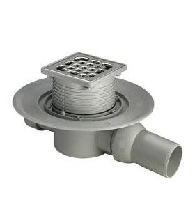Сифон подов за баня, решетка 10x10 cm. 557119  Viega Германия