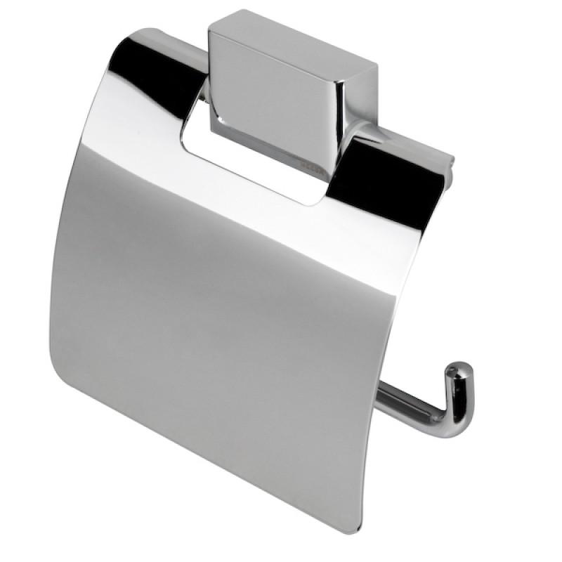 Държач за WC хартия с капак