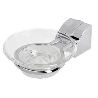 Стъклена сапунерка