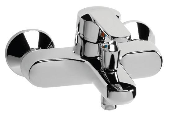 Смесител стенен за вана/душ