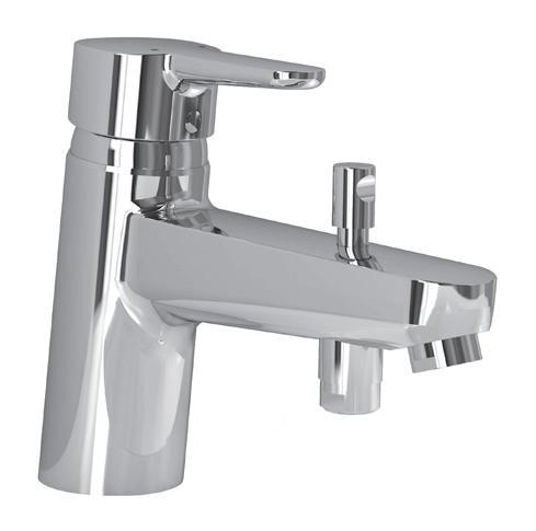 Смесител стоящ за вана/душ