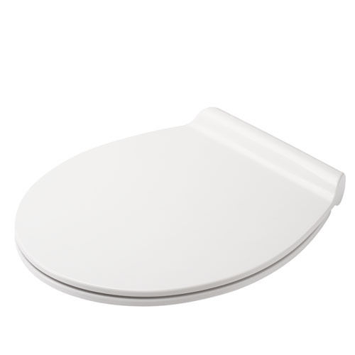 Тоалетна седалка Флюк, антибактериална, ултра тънка, плавно падаща, универсален овал, Хамбергер, България
