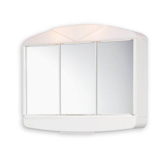 Горен шкаф огледало Аркад ABS 58X50X15 см.