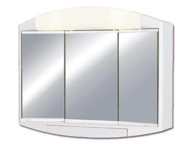 Горен шкаф огледало Елда ABS 59X49X15.5 см.