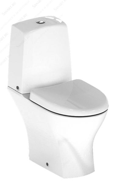 Моноблок Connect Pure, универсално оттичане, бял, плавно падаща седалка, Ideal Standard
