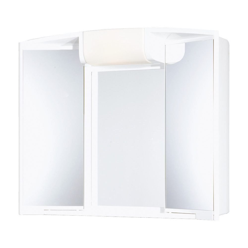 Горен шкаф огледало Анджи ABS 59X50X15 см.