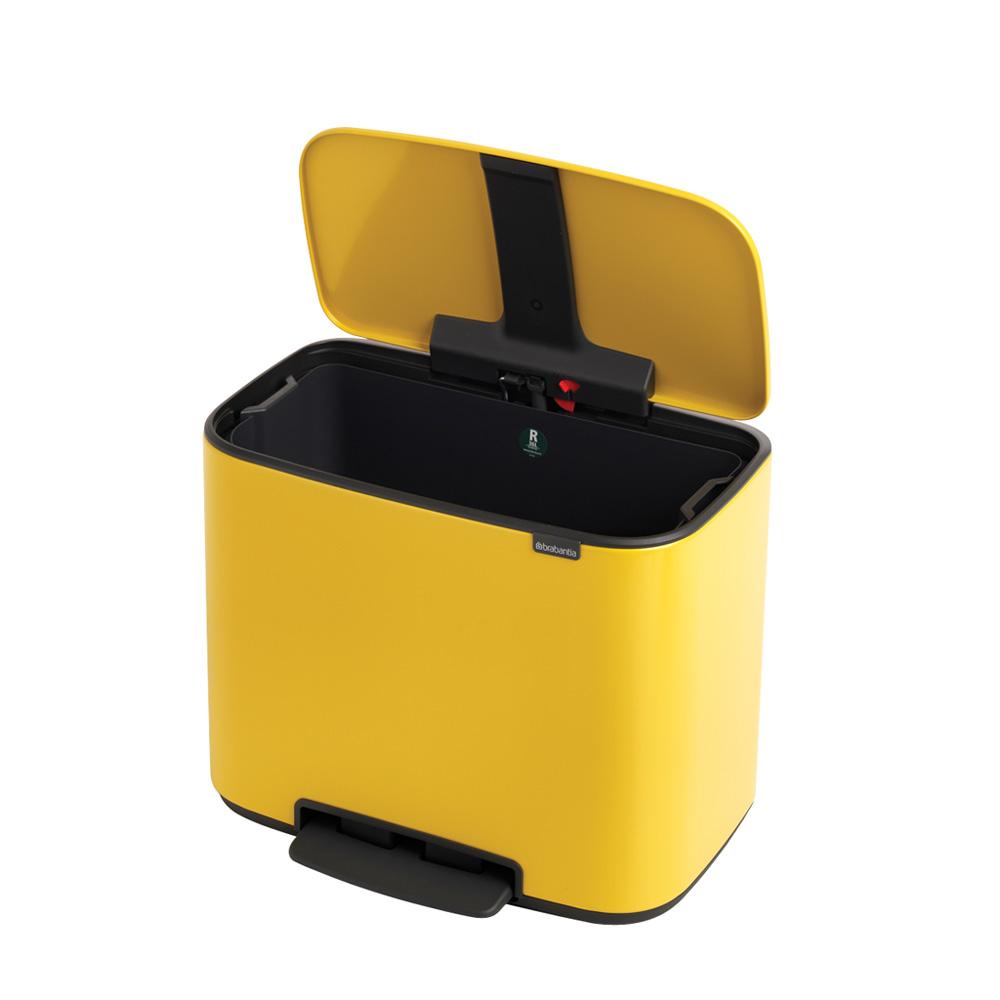 Кош Brabantia Bo Pedal Bin, 36L, Yellow
