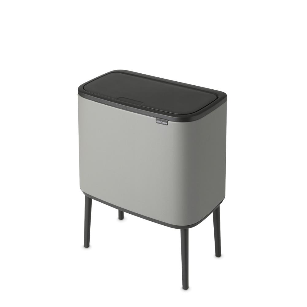 Кош Brabantia Bo Touch Bin 36L Mineral Concrete Grey