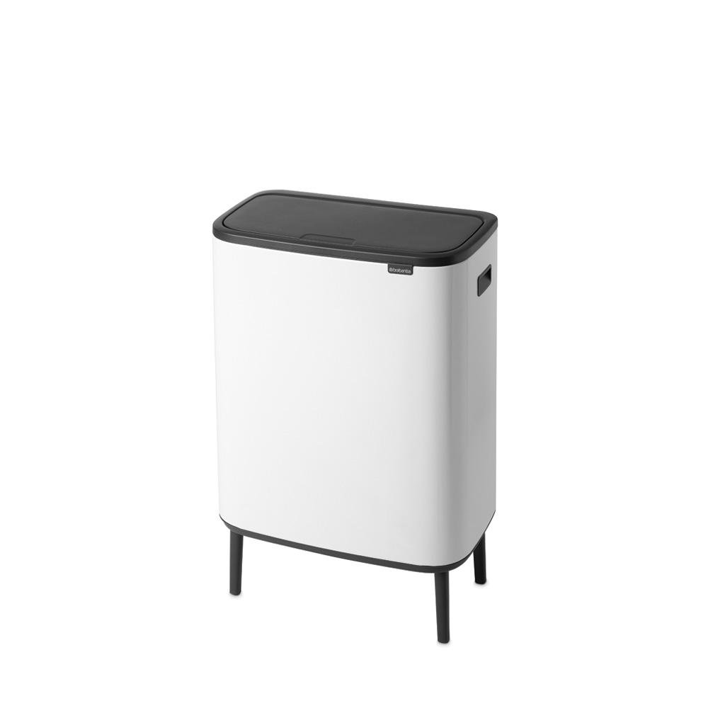 Кош Bo Touch Hi, 60L, Plastic Bucket White