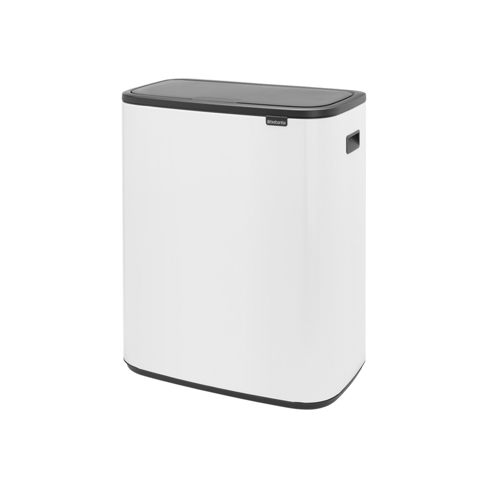 Кош Bo Touch, 2 x 30 litre, Plastic Buckets White