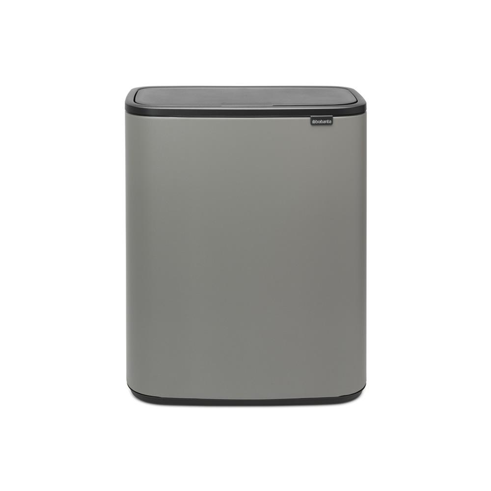 Кош Bo Touch, 2 x 30 litre, Plastic Buckets Mineral Concrete Grey