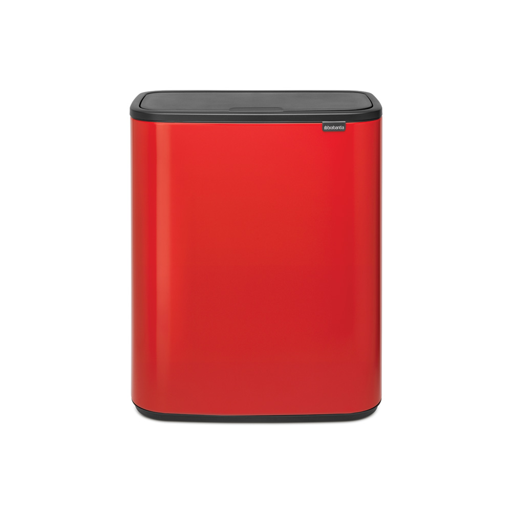 Кош Bo Touch , 2 x 30L, Plastic Buckets Passion Red