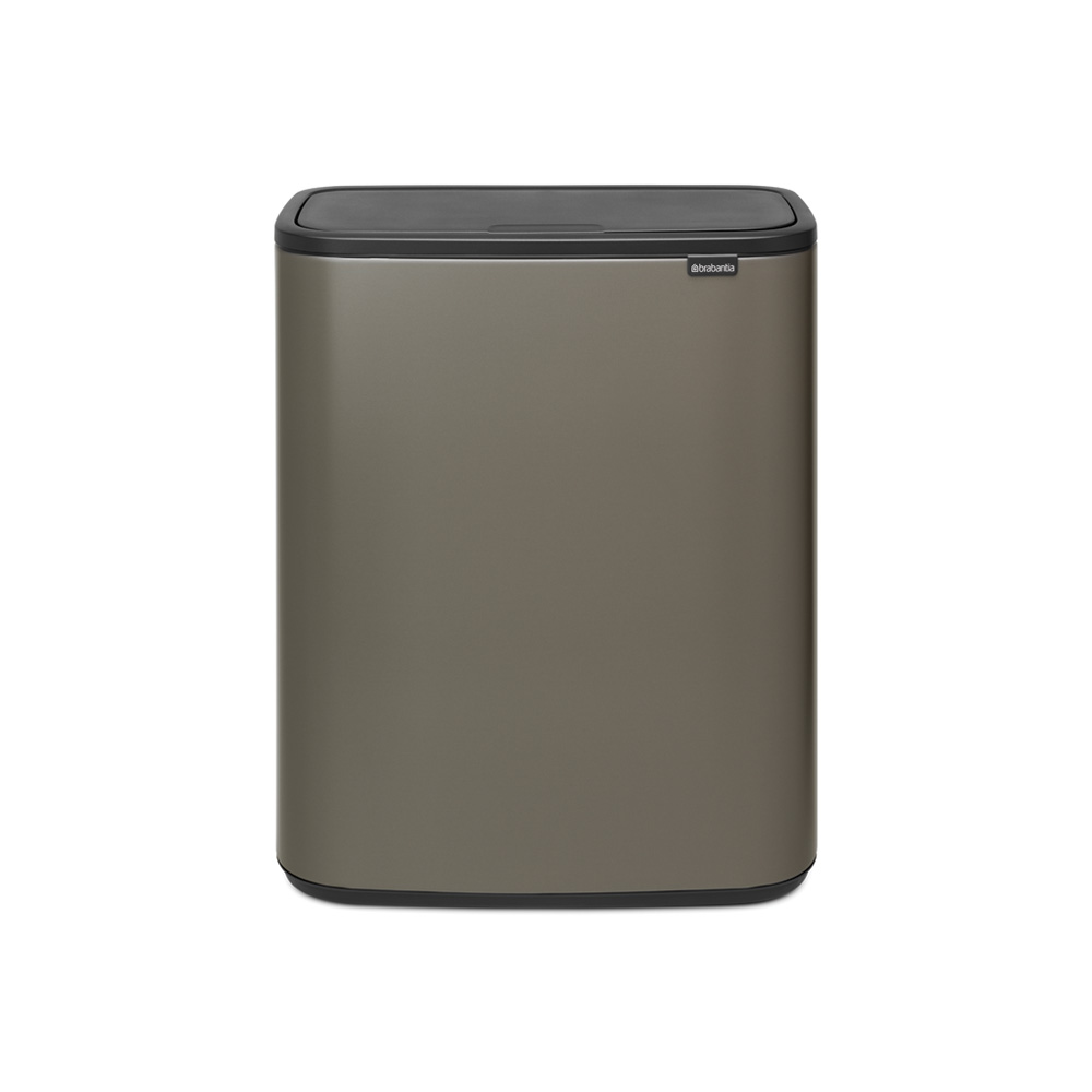 Кош Bo Touch 60L, Plastic Bucket Platinum