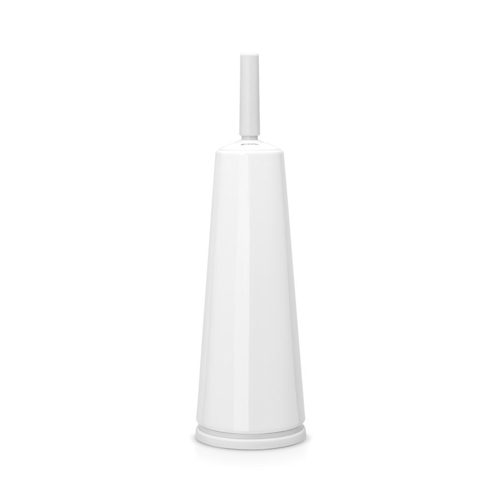 Четка за тоалетна със стойка, Brabantia, White