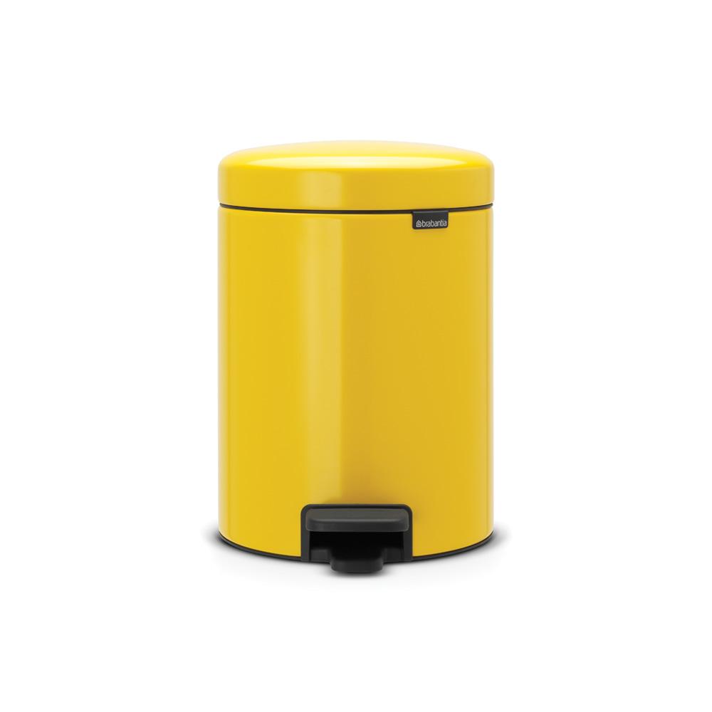 Кош с педал Brabantia NewIcon 5 L Yellow