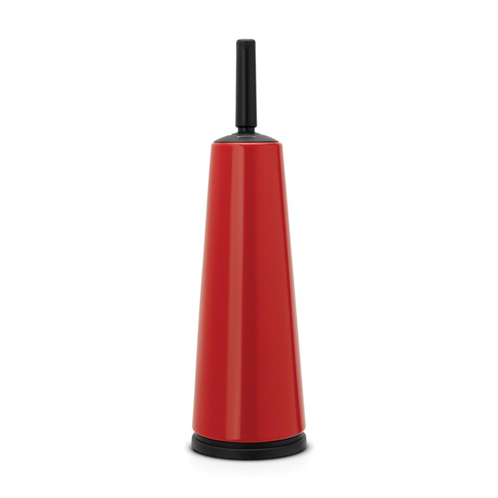 Четка за тоалетна със стойка, Brabantia, Red