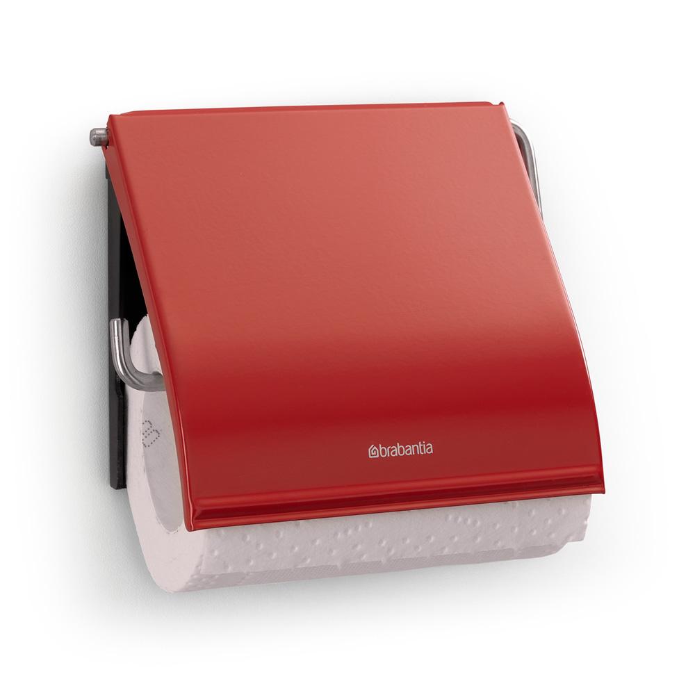 Държач за тоалетна хартия Classic Brabantia Passion Red