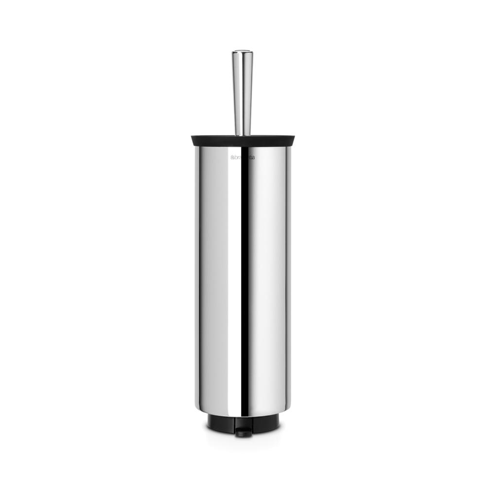 Четка за тоалетна със стойка, Brabantia, Brilliant Steel