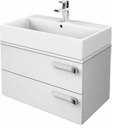 Шкаф с мивка с две чекмеджета 90