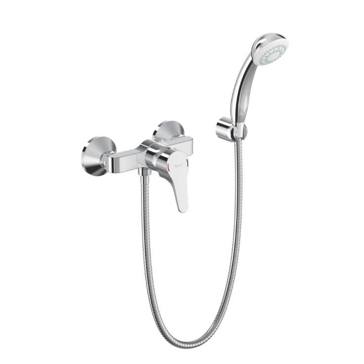 Смесител стенен за душ с аксесоари