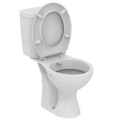 WC + биде, комплект, хоризонтално оттичане